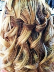 Прическа косы на волосы средней длины фото