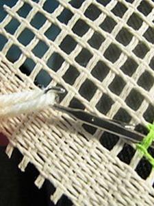 Ткань для плетения ковров