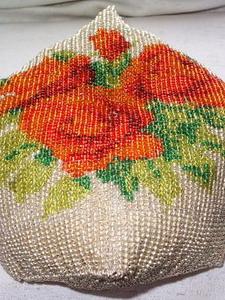 Вышивки из бисера на подушках схемы