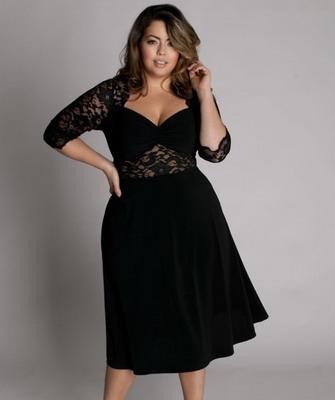 Пошить платье фото для полных
