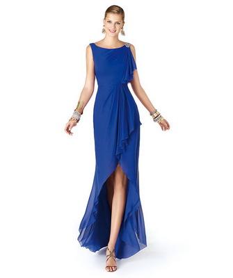 Вечерние модели платьев из шифона