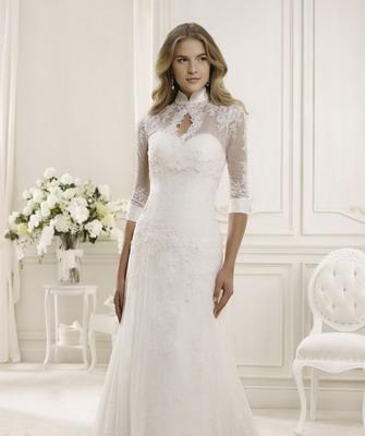 Платье невесты для зимы