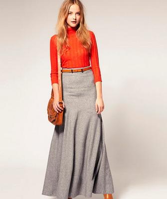 Нарядный фасон юбки