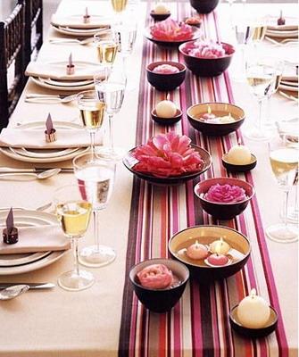 праздничный стол на день рождения сервировка фото
