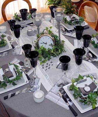 оформление праздничного стола своими руками с фото