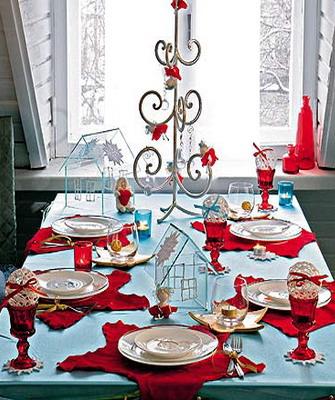 Новогодняя сервировка стола своими руками фото 868