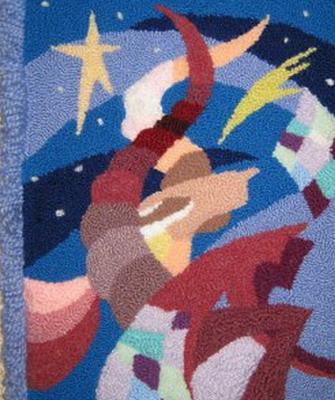 0402-03 Ковровая вышивка