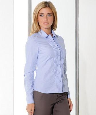 5cb5cae719a Рубашки женские 2019  в клетку и джинсовые - на фото модные модели ...