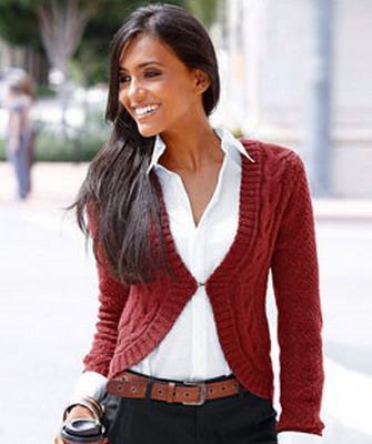 Модные вязаные свитера своими руками