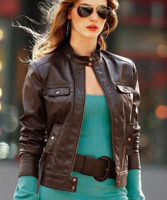 кожаные куртки фото красивые