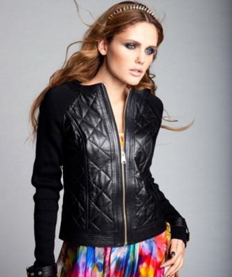 5917962be3f1 Такие модели как стильные кожаные куртки женские 2019 года примечательны  своим необычным дизайном, они выполняются в тенденции нового времени.