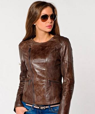 Стильные кожаные куртки женские фото, которые вы можете найти на данной  странице, это позволит увидеть реальный вид модели. 2f1326ec94e