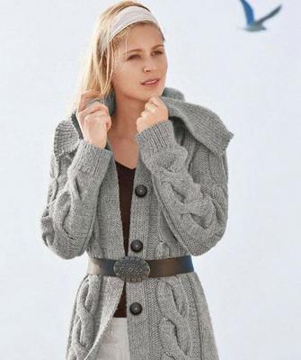 Модные вязаные свитера и кофты сезона осень-зима 2013-2014 (9