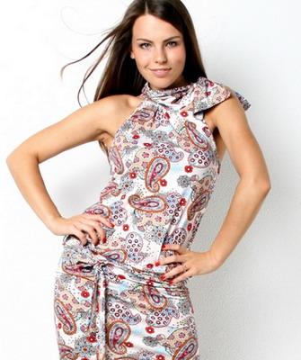 Летние трикотажные платья своими руками