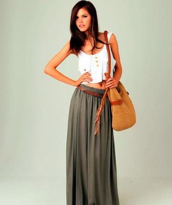 Модные юбки это лета 2014