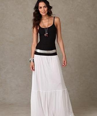Модные длинные юбки 2015. С чем носить модную длинную юбку в 2015