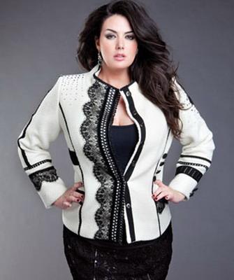 5e7e37b4bd4e272 Стильная одежда для полных женщин: платья, пальто, юбки, костюмы ...
