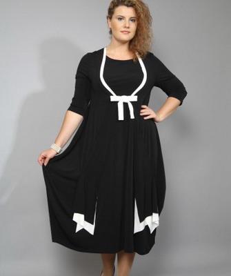 Платье на полных женщин фото и юбки