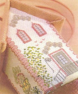 Объемная вышивка крестиком