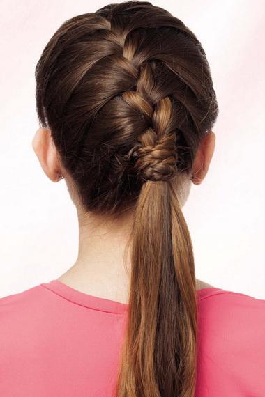Плетение французской косы пошагово: как самой сделать 19