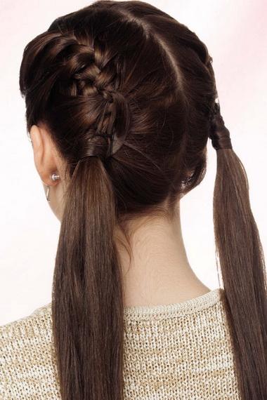 Плетение волос фото