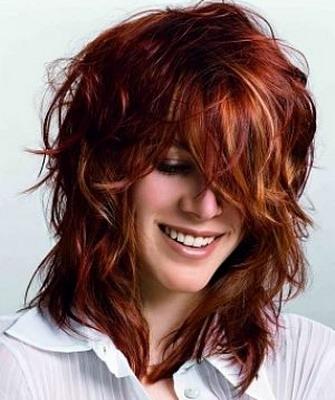 Каскадные стрижки для волнистых волос