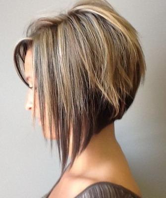 прическа боб на короткие волосы фото