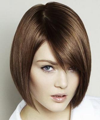 Женские стрижки для жестких волос фото