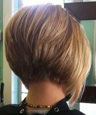 Прическа боб на короткие волосы