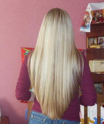 Стрижка волос сзади полукругом фото