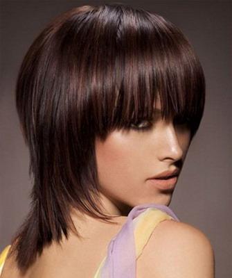 Прическа аврора на средние волосы