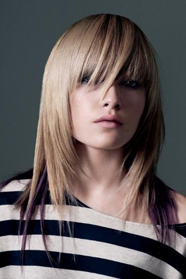 Стрижка перьями - на фото: стрижка на короткие, средние и длинные волосы