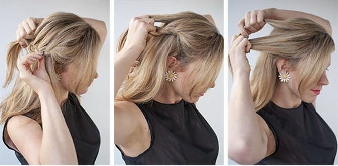 Красивые повседневные прически на средние волосы