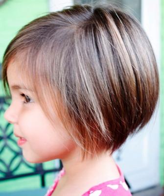 Причёски для девочек на каре фото