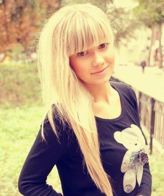 Фото девушек с каре блондинок без лица