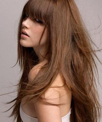 Каштановый цвет волос светлый