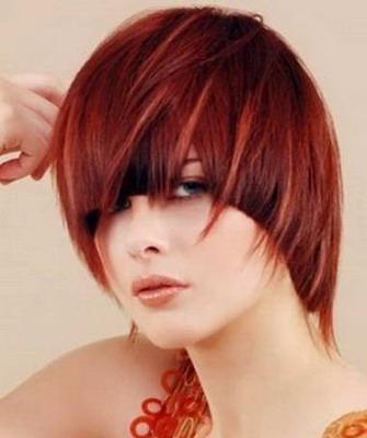 Стрижка дебют на средние волосы