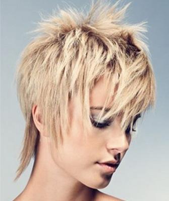 Стрижки на короткие волосы с объемом на макушке