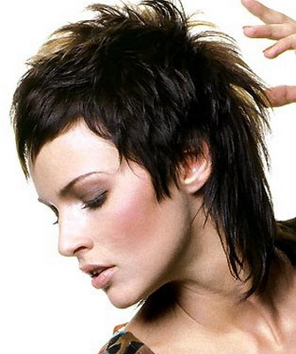 Гаврош стрижка женская на короткие волосы фото