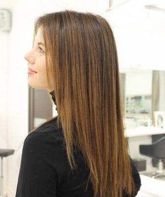 Прическа лесенка фото на длинные волосы