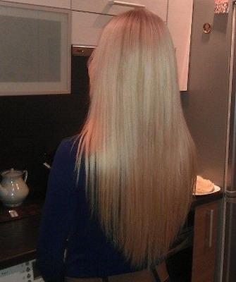 Волосы лесенкой фото сзади
