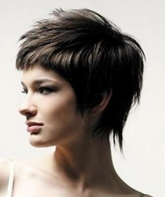 Рваные стрижки на короткие волосы