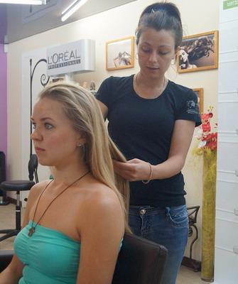 Как делать правильно укладку волос
