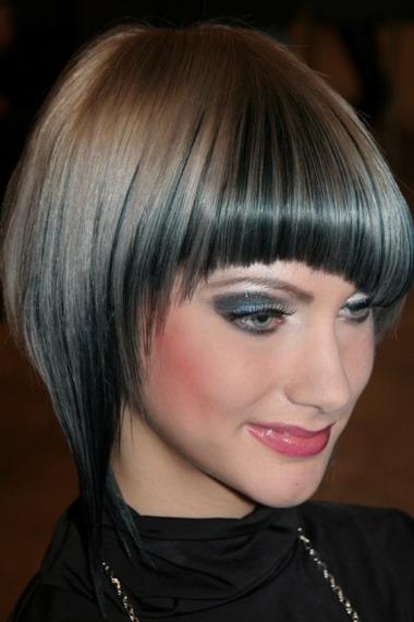 Стрижка сессон на короткие, средние, длинные волосы. Схема стрижки сессон