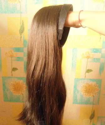 Волосы на ободке натуральные купить
