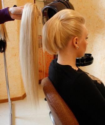 Шиньон на волосы своими руками