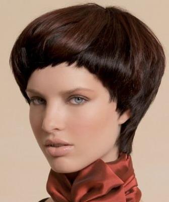 Прически шапочкой на короткие волосы