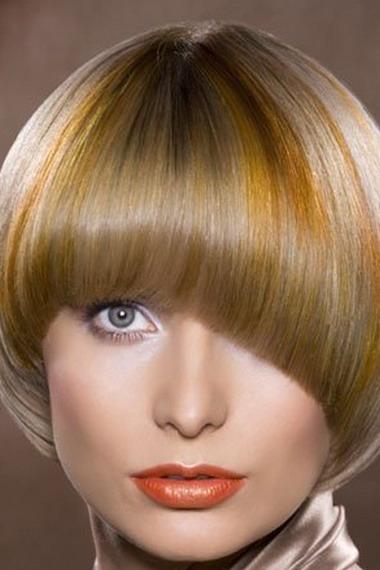 Стрижка каре шапочкой на средние волосы
