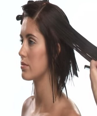 Технология стрижки на средние волосы
