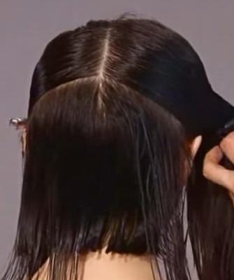 Как подстричь верхние волосы
